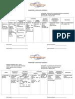Formato de Planificacion Academica