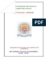 Analog Electronics LAB Manual