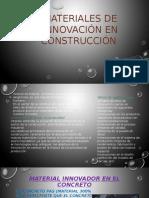Materiales de Innovación