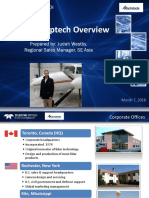 Teledyne Optech Co Overview