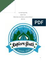 explore youth 5 day program