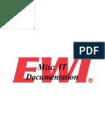 Misc. Documentation