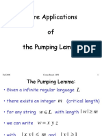 Regular Pumping Examples