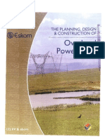 ESKOM Overhead Power Lines-The Planning Design & Construction