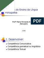 Objetivos de Ensino de Lingua Portuguesa