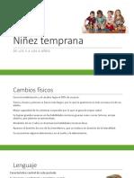 5. Niñez Temprana