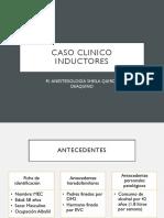 Caso Clinico Anestesiología