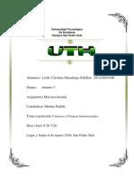 Comercio Internacional y Finanzas