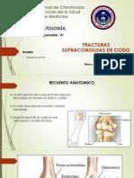 Fracturas Supracondileas Del Codo