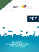 Documento Individual de Adaptación