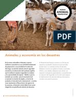 Animales y Economía en Los Desastres