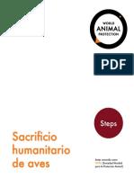 Sacrificio Humanitario de Aves