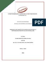 Propuesta Del Diseño de Una Red de Datos Para La Municipalidad Provincial de Sechura, 2014.