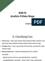 CH 03 - Analisis Prilaku Biaya