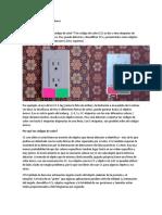 Cámara pixy y el código de colores