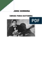 PEDRO HERRERA - Coleccion de Partituras