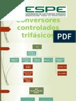 Conversores controlados trifásicos