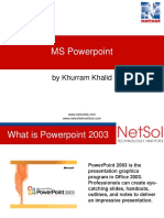 Ms Powerpoint Slides