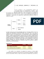 Clasificacion de Los Riesgos Quimicos y Metodos de Control