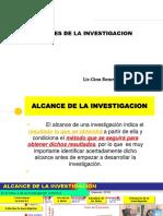 Alcance de La Investigacion Ps. Experimental