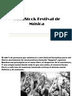 WoodStock Festival de Música