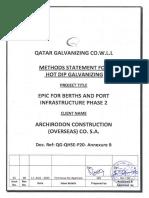 2.0 Qatar Galvanizing Procedure