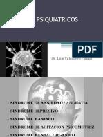sindromes psiquiatricos