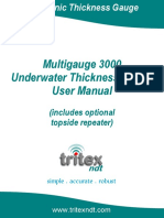 Multigauge 3000 Uw Manual
