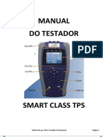 Manual Testador JDSU Smart Class TPS