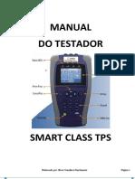 Manual Testador JDSU Smart Class TPS