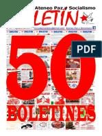 Boletin del Ateneo Paz y Socialismo de agosto de 2017