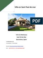 Villa Sant Pol de Mar