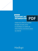 HADOPI Rapport Veille Internationale 2017