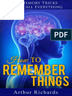 How to Remember Things.epub