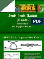 Jenis-Jenis Ikatan (Knots) (1)