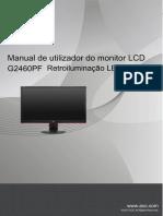 Monitor AOC G2460PF Portuguese_G2460PF