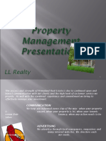 Marketing Functions of Real Estate Property Management  by LL Realty