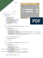 Source Code of Design Part -Encryption Decryption Project