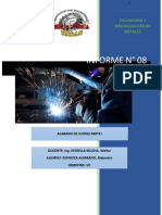 Informe 8- Acabado de Juntas Parte i