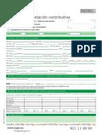 Impreso Solicitud Prestacion Contributiva 3