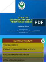 Sosialisasi Permenkes Nomor 64 Tahun 2015 Sam Mediko Legal
