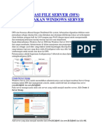 Konfigurasi Distributed File Server