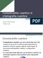 Comunicatii Cuantice Si Criptografia Cuantica