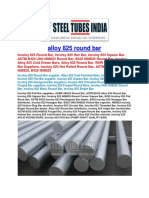 Alloy 825 Round Bar