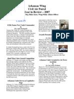 Arkansas Wing - Annual Report (2007)