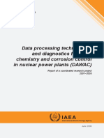 Data Processing Technologies and Diagnostics for Water Chemi