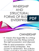 Types of Business Sole Proprietorship Partnership Corporation Types of Partnership