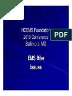 Washington Bikes in EMS