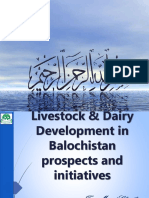 Live stock dairy development in Balochistan