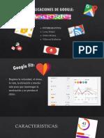 Aplicaciones de Google (1)